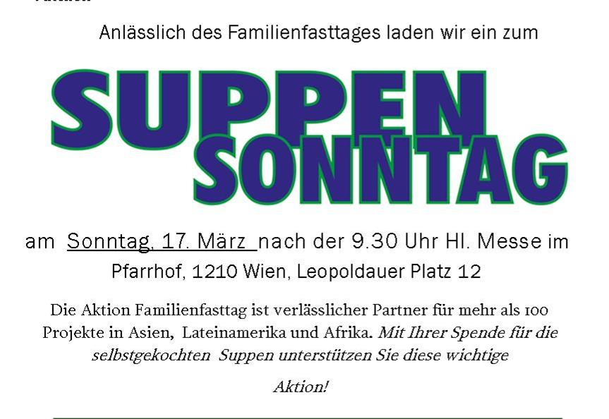 Suppensonntag