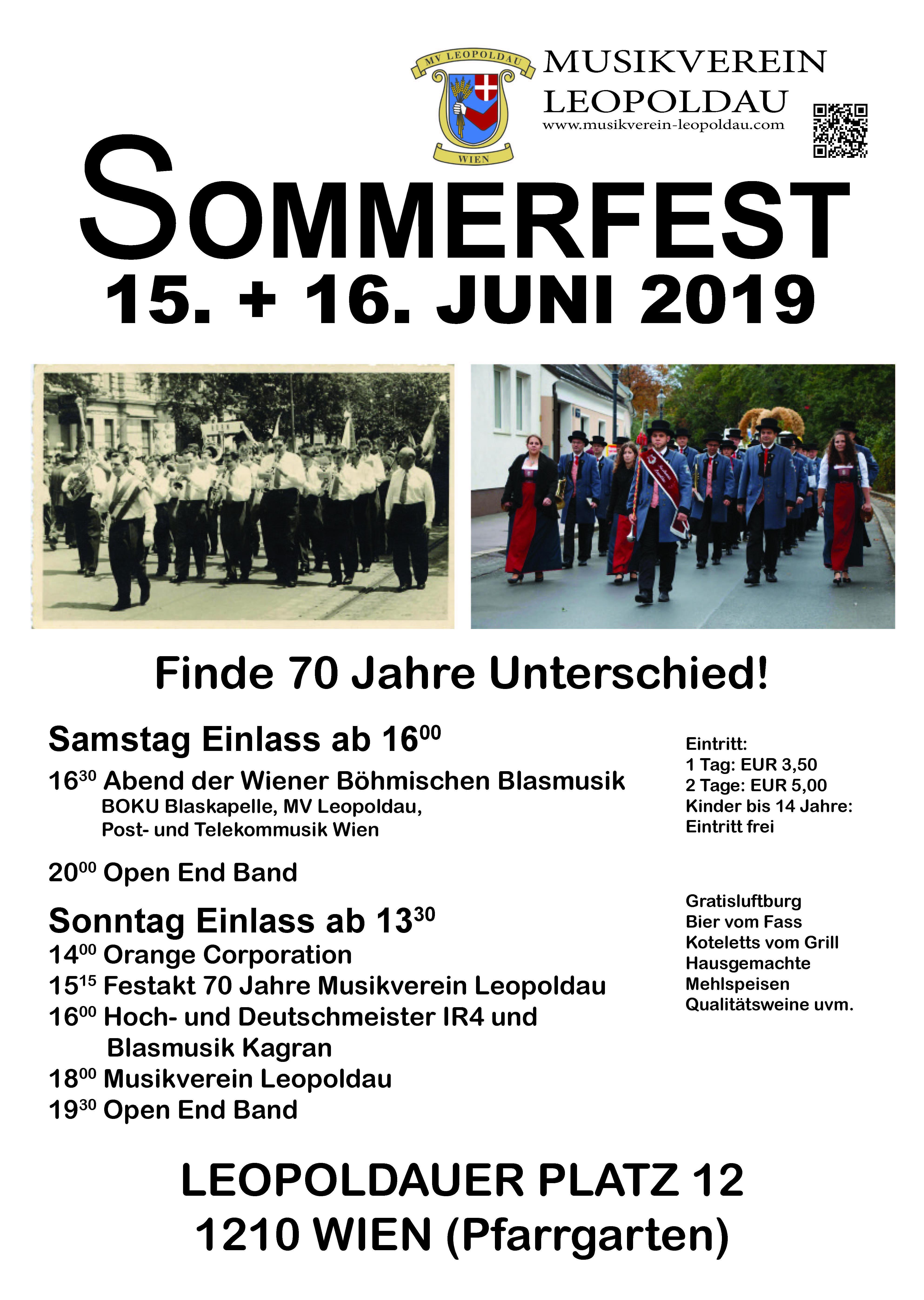 Sommerfest – Musikverein Leopoldau